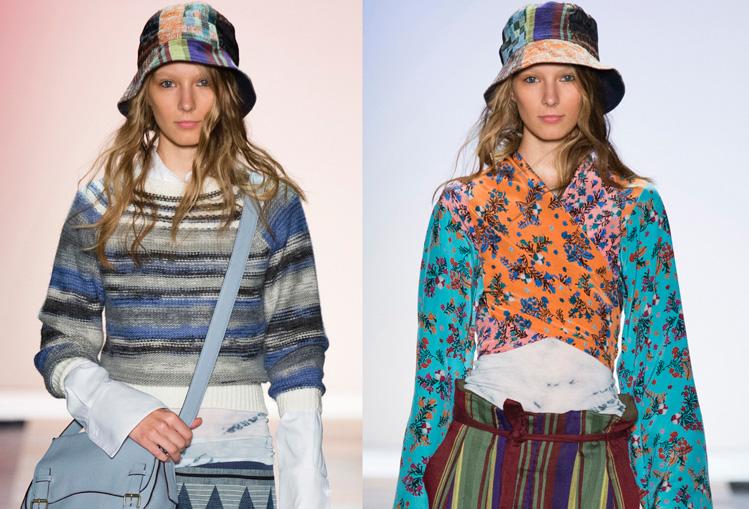 纽约时装周启航 轻妆营造别致优雅