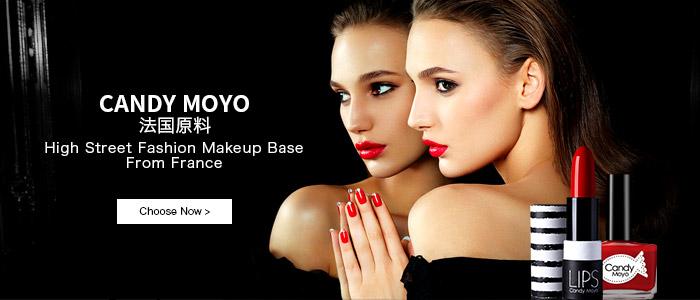 颜值当道,玩转颜色才是真正时尚 高阶彩妆时尚品牌Candy Moyo
