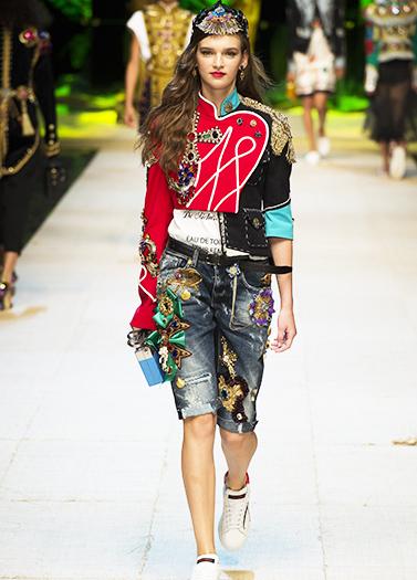 Dolce & Gabbana 2017春夏