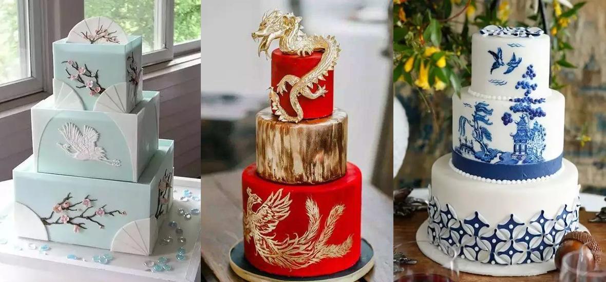 蛋糕遇上中国风 绝对想象不到的美!