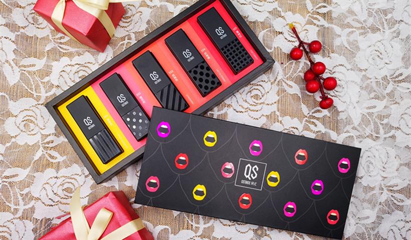 我要我的唇色! QS珂式潮色磁场口红套盒编辑评测