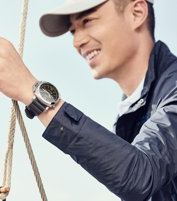 沛纳海大中华区品牌代言人霍建华先生乘风破浪,扬帆起航