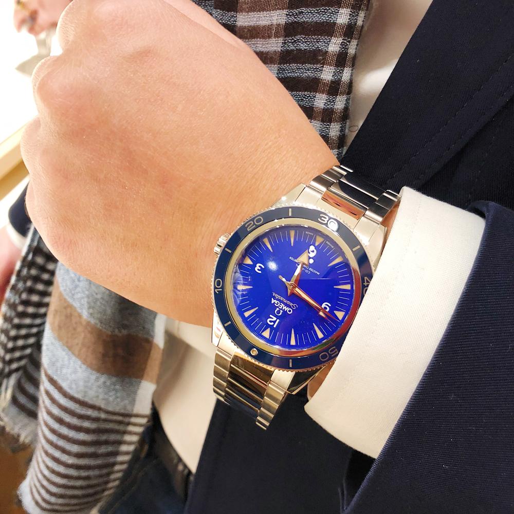 欧米茄海马系列腕表