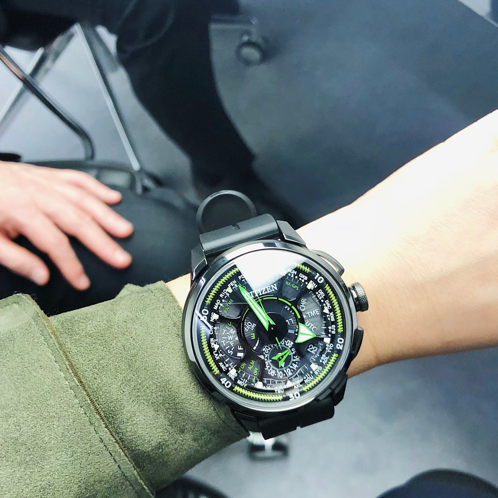 西铁城新款腕表