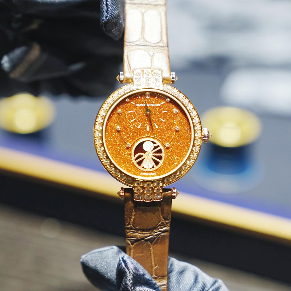 海瑞温斯顿新款腕表