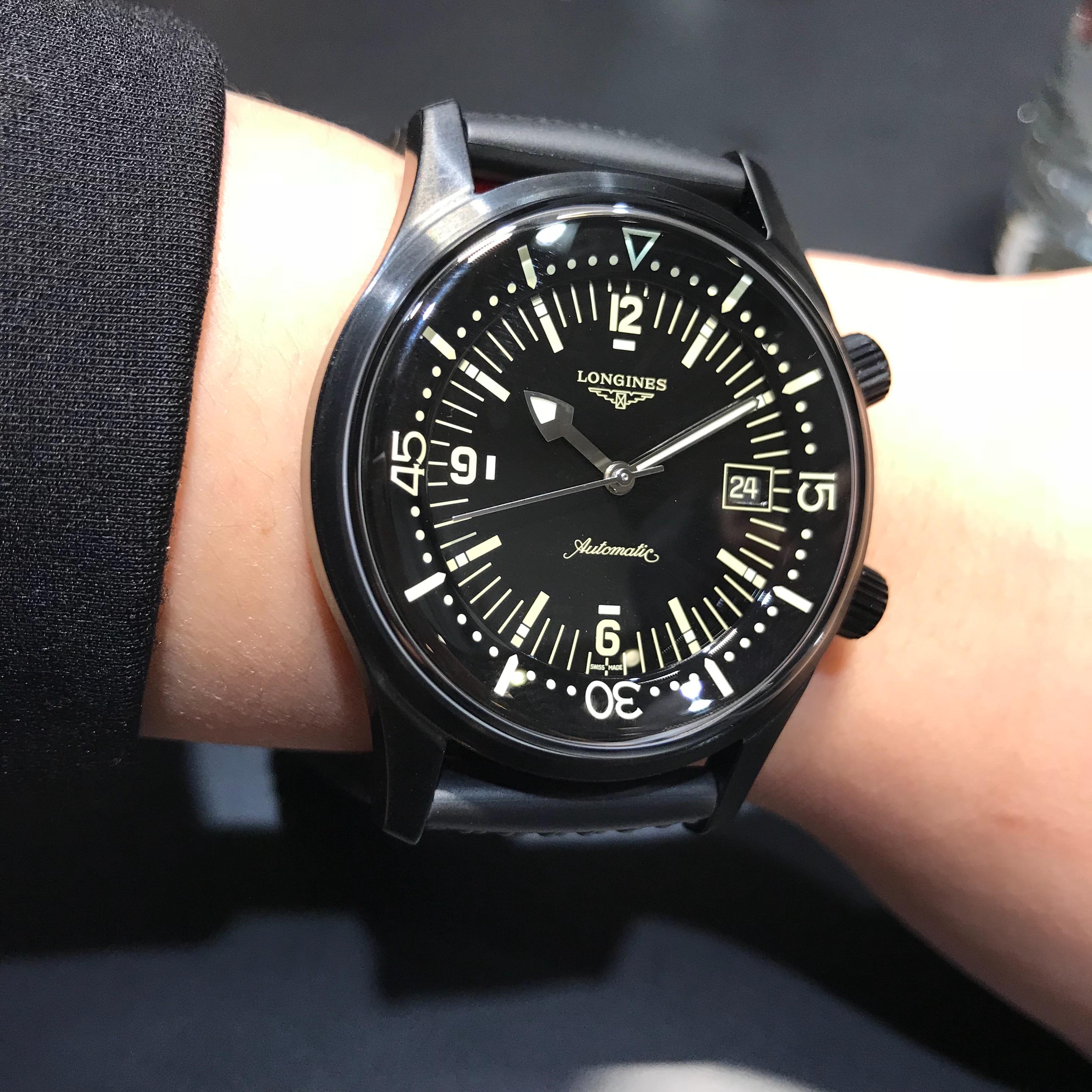 浪琴新款腕表