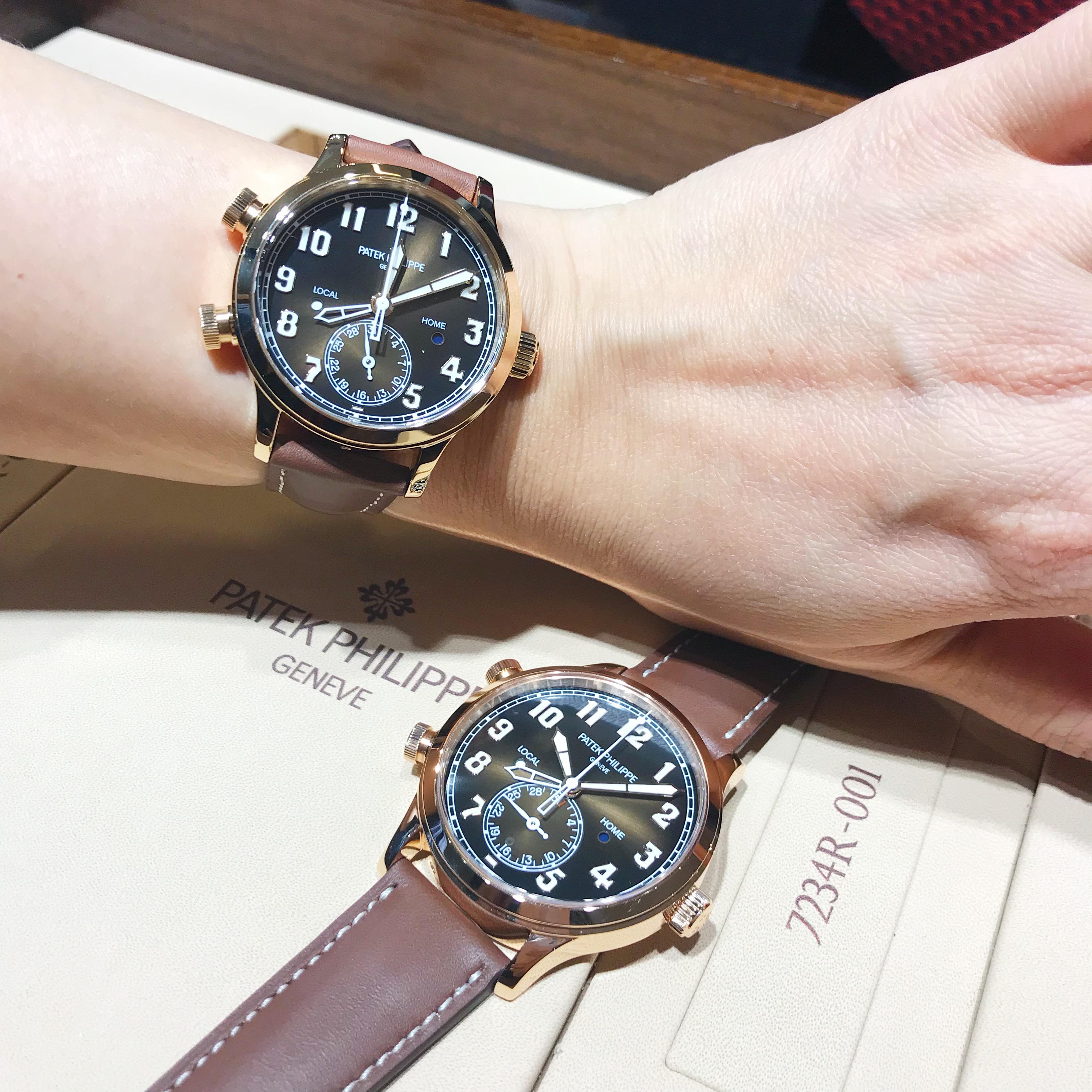 百达翡丽新款腕表