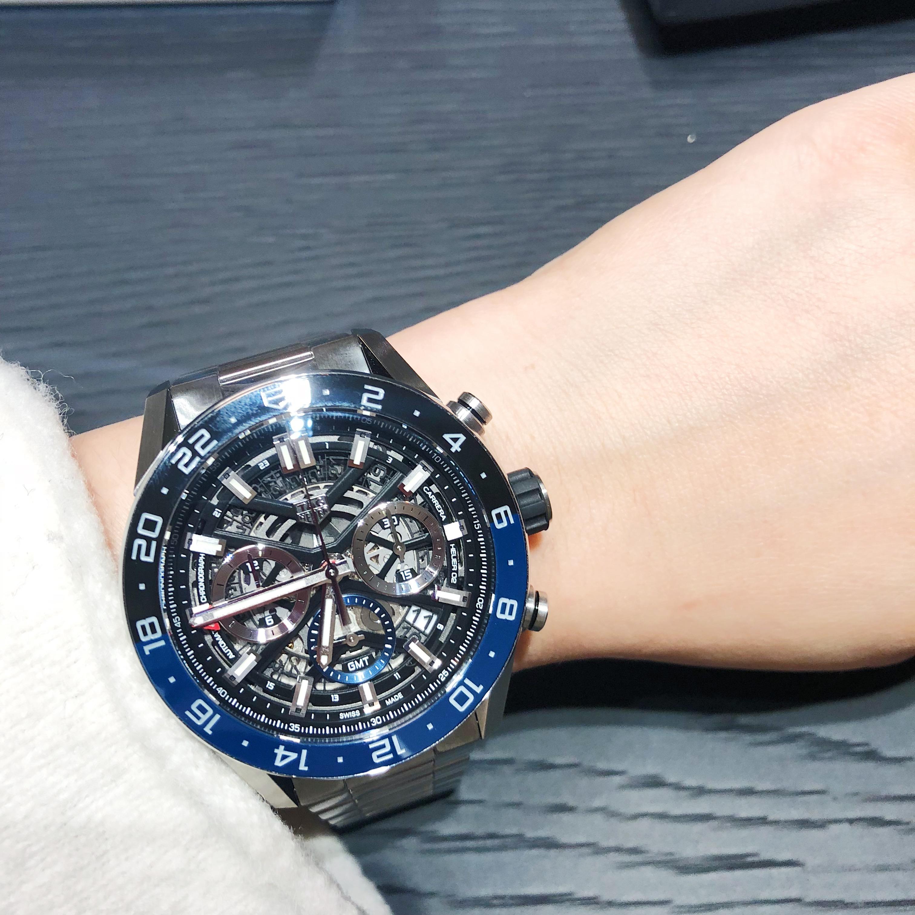 泰格豪雅最新腕表