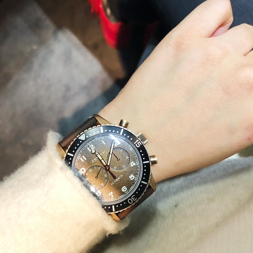 真力时新款腕表