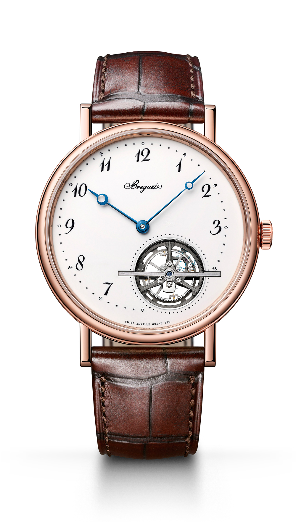 BREGUET宝玑 航海系列的5517钛金属款腕表