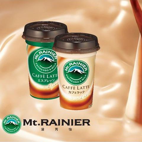 日本进口人气即饮冷藏咖啡Mt.RAINIER漫芮怡登陆魔都