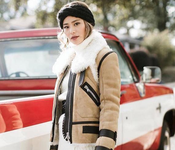 冬天穿这个颜色,看上去又富又美