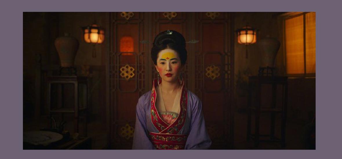 首个迪士尼华人公主——刘亦菲,墨镜十级爱好者