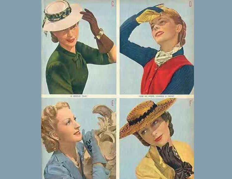 Vintage的优雅韵味被一副手套拿捏得很稳!