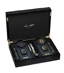 欧米茄隆重推出詹姆斯·邦德限量版腕表套装