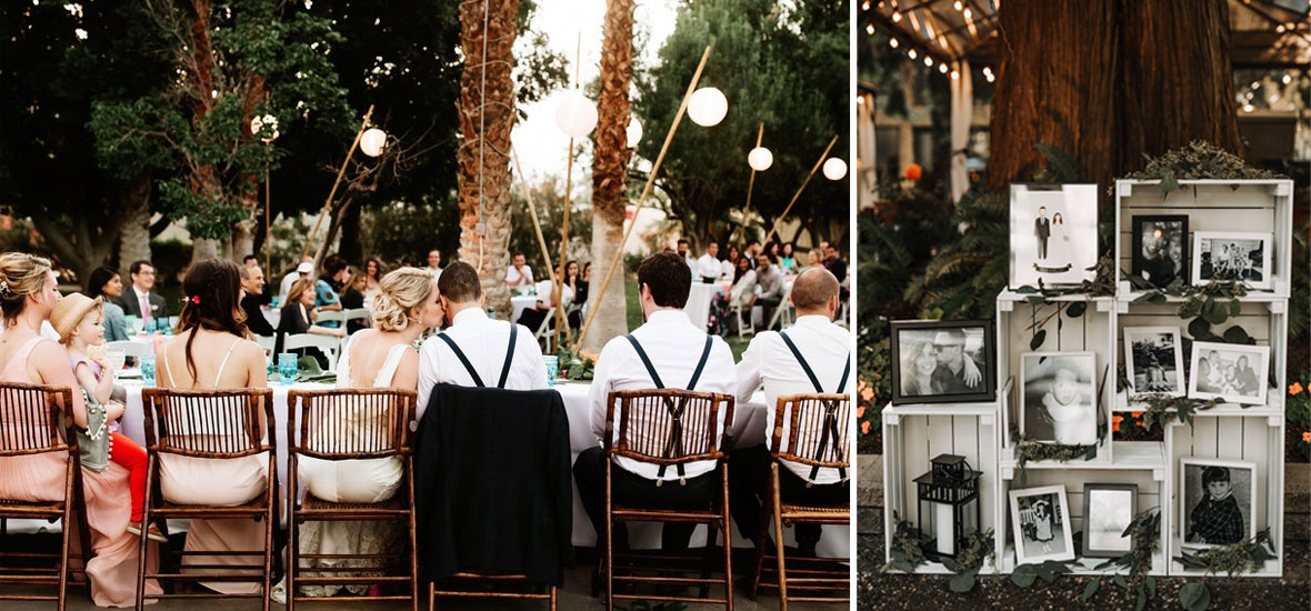 私密而轻松的后院婚礼灵感 森系新娘一定要看过来!