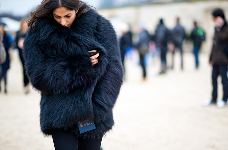 冬天穿皮草理所应当 可是你真的穿对了么?