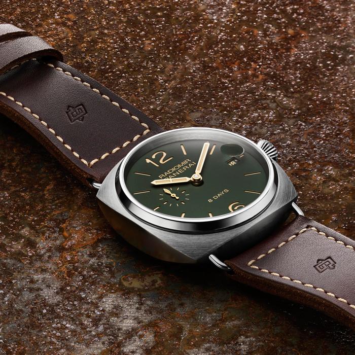 三枚沛纳海全新绿色表盘腕表面世