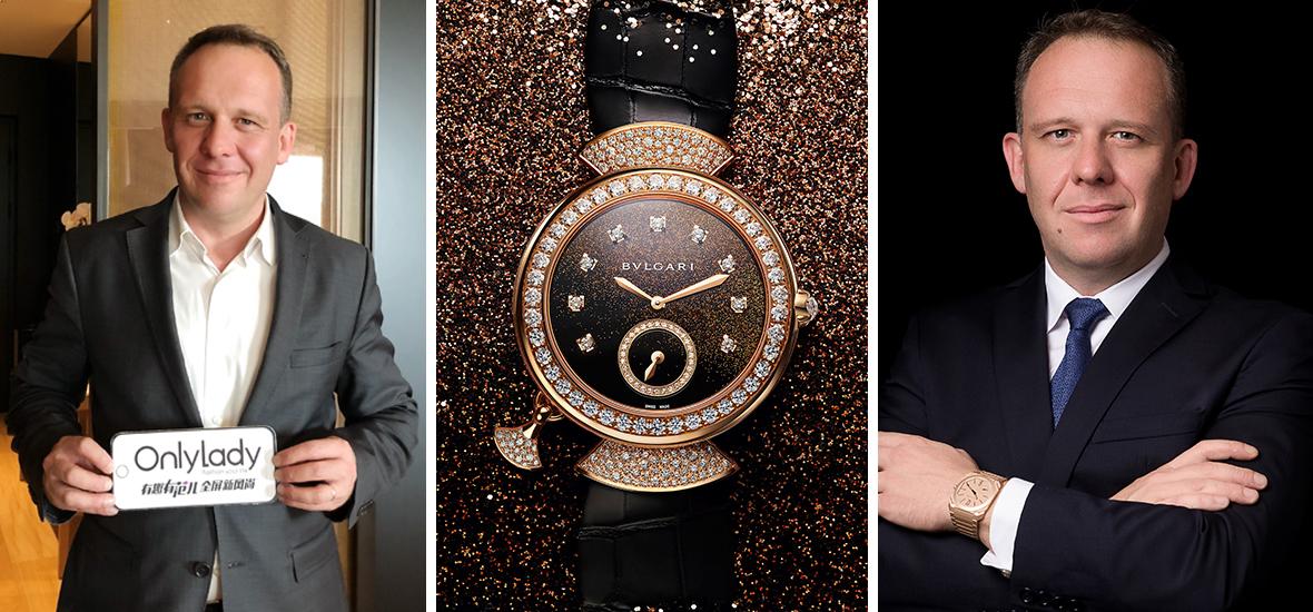 OnlyLady专访BVLGARI大中华区董事总经理Kolia Neveux: 女性购买腕表,从表象发现内涵